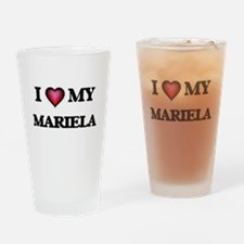 I love my Mariela Drinking Glass