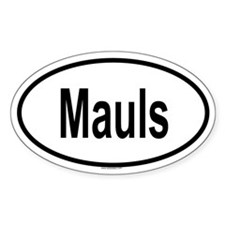 MAULS Oval Decal