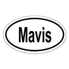 MAVIS Oval Decal
