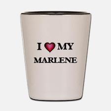 I love my Marlene Shot Glass