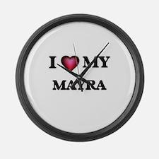 I love my Mayra Large Wall Clock