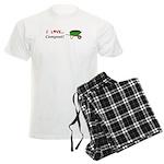 I Love Compost Men's Light Pajamas