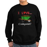 I Love Compost Sweatshirt (dark)