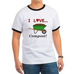 I Love Compost Ringer T