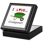 I Love Compost Keepsake Box