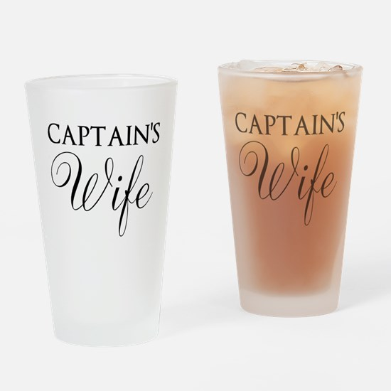 Captain's Wife Drinking Glass