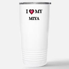 I love my Miya Stainless Steel Travel Mug