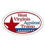West Virginia Against Trump Sticker
