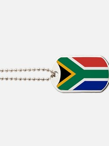 Cute South afrika Dog Tags