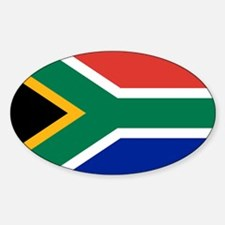 Unique South afrika Sticker (Oval)