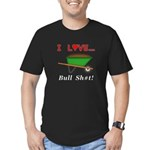 I Love Bull Sh#t Men's Fitted T-Shirt (dark)