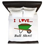 I Love Bull Sh#t King Duvet