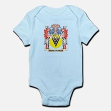 Moneymaker Coat of Arms - Family Crest Body Suit
