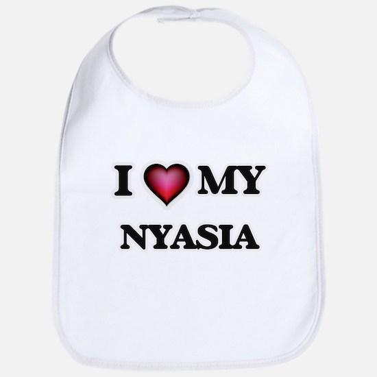 I love my Nyasia Baby Bib