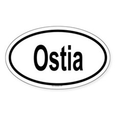 OSTIA Oval Decal