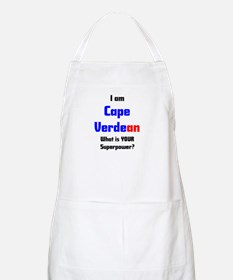 i am cape verdean Apron