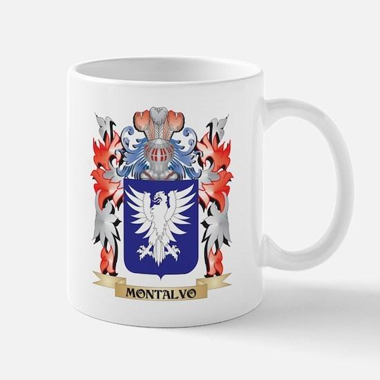 Montalvo Coat of Arms - Family Crest Mugs