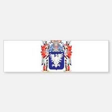 Montalvo Coat of Arms - Family Cres Bumper Bumper Bumper Sticker