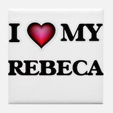 I love my Rebeca Tile Coaster