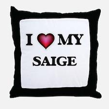 I love my Saige Throw Pillow
