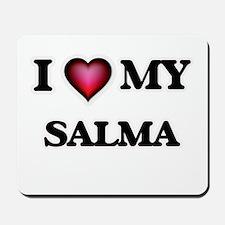 I love my Salma Mousepad