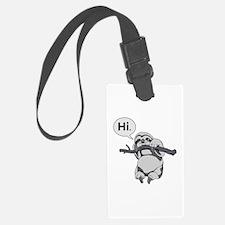 Friendly Sloth Luggage Tag