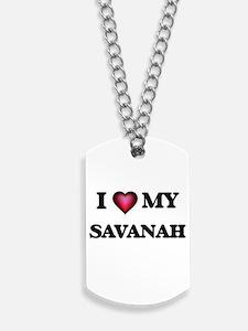 I love my Savanah Dog Tags