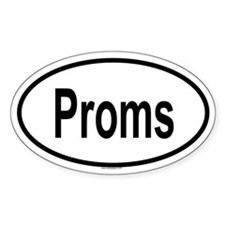 PROMS Oval Decal
