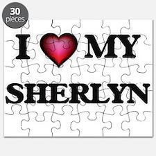 I love my Sherlyn Puzzle