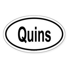 QUINS Oval Decal
