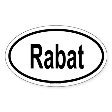 RABAT Oval Sticker