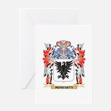 Moriarty Coat of Arms - Family Cres Greeting Cards