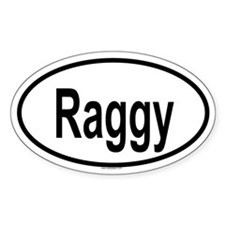 RAGGY Oval Decal