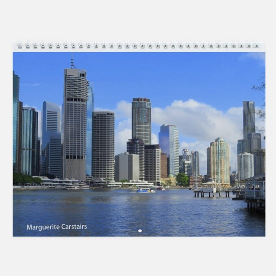 Brisbane City Wall Calendar