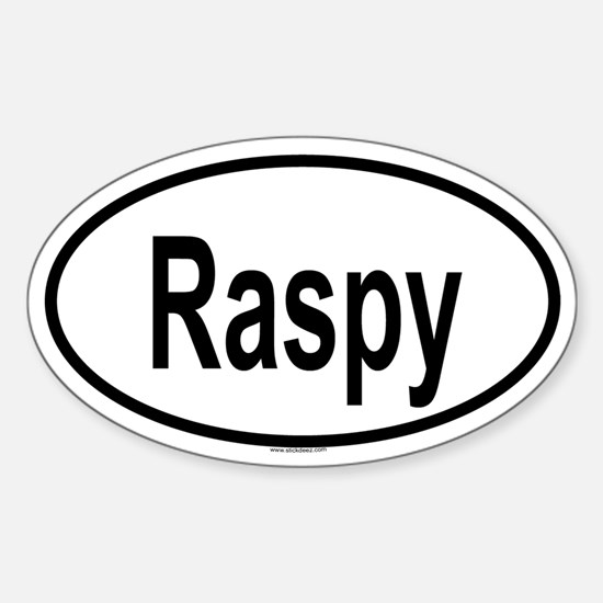 RASPY Oval Decal