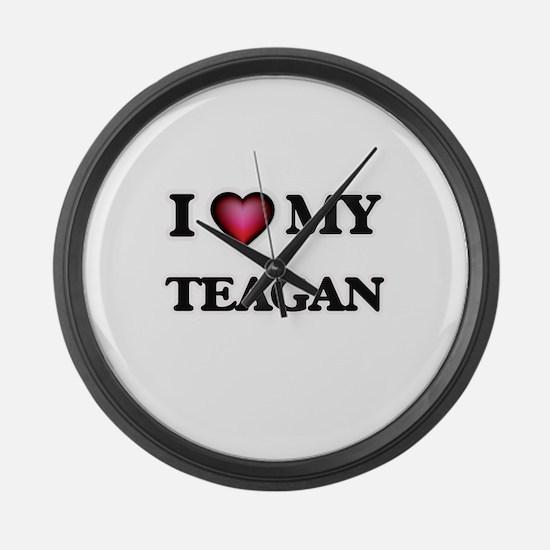 I love my Teagan Large Wall Clock