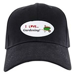 I Love Gardening Black Cap