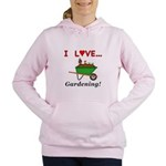 I Love Gardening Women's Hooded Sweatshirt