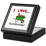 I Love Gardening Keepsake Box