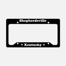 Shepherdsville KY - LPF License Plate Holder