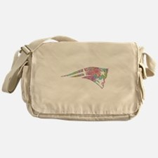 Go pats go Messenger Bag