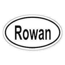 ROWAN Oval Decal