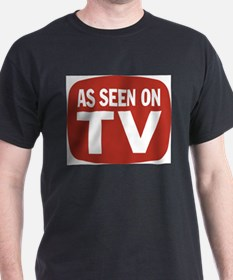 AS SEEN ON TV Ash Grey T-Shirt