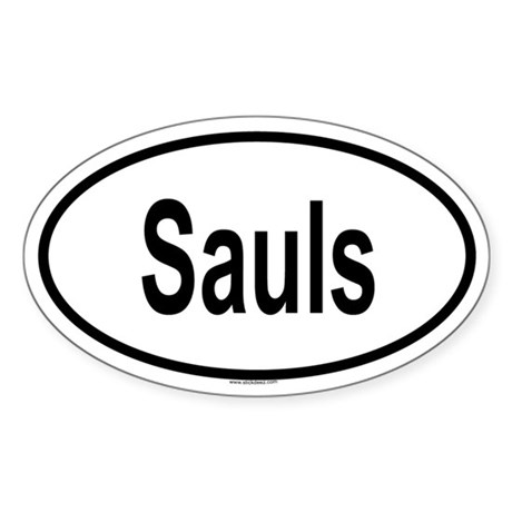 SAULS Oval Sticker