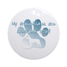 Carolina Dog Grandchildren Ornament (Round)