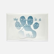 Carolina Dog Granddog Rectangle Magnet