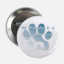 """Carolina Dog Granddog 2.25"""" Button"""