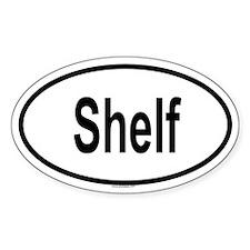 SHELF Oval Decal