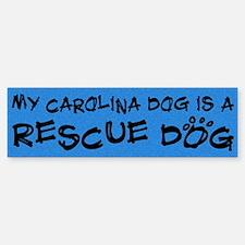 Rescue Dog Carolina Dog Bumper Bumper Bumper Sticker