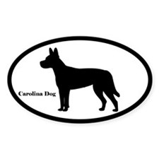 Carolina Dog Silhouette Decal